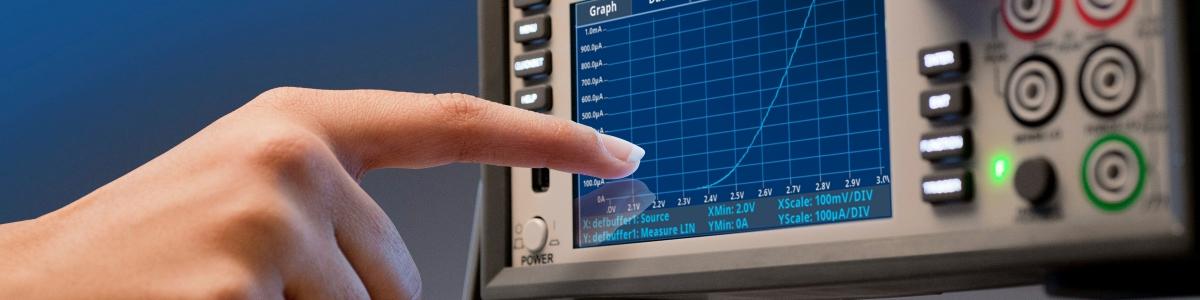 Neue Touch, Invent, Test-Technologie an SourceMetern